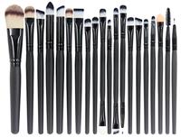 Aiviai 20 Piece Makeup Brush Set for Foundation,Eyebrow Brush,Eye Shadow Brush,Eyeliner Brush,Founda
