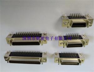 JL-SCSI-CA 母座 90°