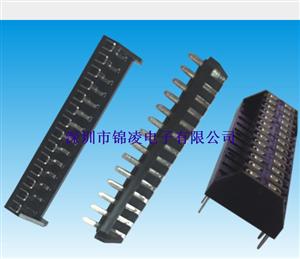 JL-2.54*5.0mm 单双排蜈蚣脚插座