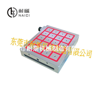 耐磁牌NCD50-3036标准型加工中心用强力电控永磁吸盘厂家直销