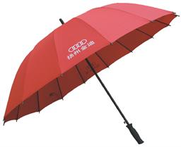 14英寸橡膠直柄傘 -1290