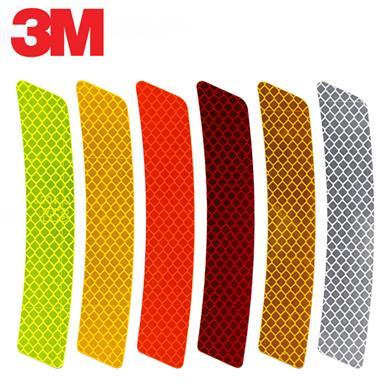 """3M钻石级""""轮眉贴"""" 14.3cm 白/黄/红/荧光黄/荧光黄绿/荧光橙"""