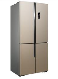 美菱(MeiLing)BCD-531WP9CX 531升十字对开 0.1度精控双变频 无霜杀菌 干湿分储 一级能效 自由嵌入多门冰箱(金)