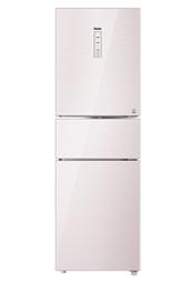 海尔(Haier)BCD-221WDECU1 221升风冷无霜变频三门冰箱 珠光玻璃面板 大冷冻力天然杀菌 智能WIFI