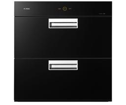 方太(FOTILE)二星级 100L大容量 嵌入式消毒柜碗柜 J45E