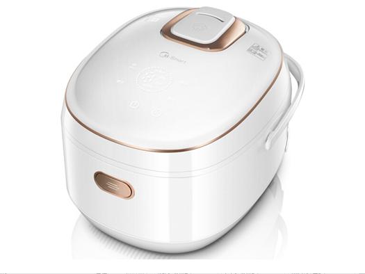 美的(Midea)电饭煲WFZ4000XM-W IH电磁加热 WiFi操控 钛金鼎釜4L电饭锅