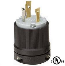 美标锁式插头NEMA L5-30P