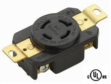 美式工业插座NEMA L14-30R