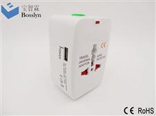 全球通旅行转换插头 万能转换插头 万能插头931L USB port