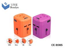 931L-J Universal Travel Adapter 2015 2100mA USB output