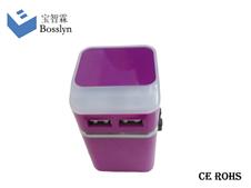 931L-H Universal Travel Adapter USB 2100MA