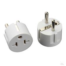 USA to Euro Europen Plug travel adapter