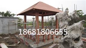 西藏凉亭亭子、西藏木塑地板、西藏公园座椅垃圾桶