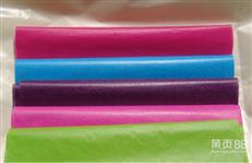现货24克彩色蜡光纸厂家批发