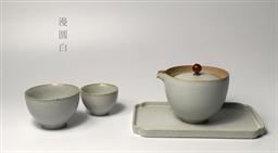 和樂融融(漫圓白) 陶瓷茶具套裝-1002