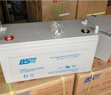 万松12V系列蓄电池