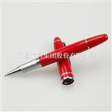 万里集团直营金属红瓷笔 金属签字笔 中国红宝珠笔 定制礼品笔
