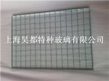 新型可视隐私玻璃夹丝玻璃夹层钢化玻璃防滑玻璃