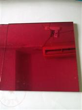 优质供应划片玻璃=红色玻璃,彩色玻璃片,加工镀膜彩色玻璃