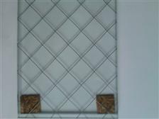 6mm夹丝玻璃 钢丝玻璃
