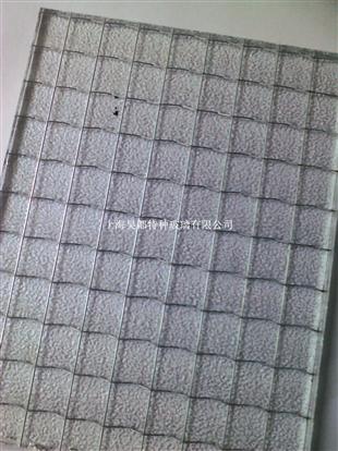 半透明夹丝玻璃优质供应
