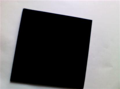 优质厂家供应全黑玻璃透光黑色玻璃