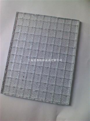 供应进口透明夹丝玻璃7mm钢丝玻璃