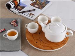 都市风螺纹茶具-1010