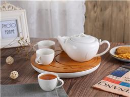 都市风曲纹茶具-1010