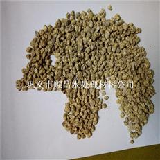 郑州软质黄金麦饭滤料厂家  批发颗粒麦饭石