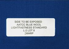 AATCC蓝羊毛织物