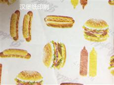 40克-60克汉堡纸食品纸印刷厂家