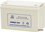 雄狮100AH-12V(小壳)电池