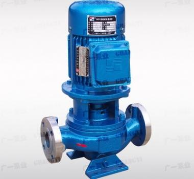 广一GDF型耐腐蚀管道泵,广一水泵厂供应