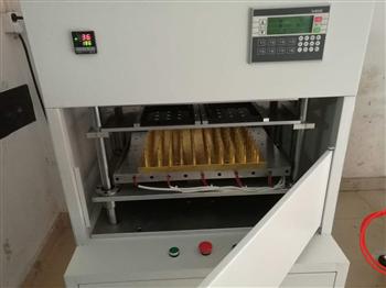 LED行業單元板模組面罩熱壓機/熱熔機