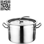 不锈钢商用锅(Stainless Steel Stock Pot)ZD-TG427
