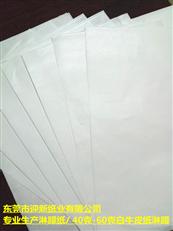专业定做淋膜纸  白牛皮纸淋膜厂家  防水纸