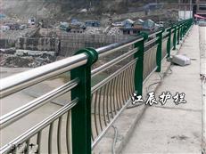 不锈钢复合管河道护栏