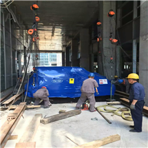 空调冷热机组地下室搬运吊装专业团队