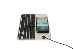 三系统通用超薄无线充背光键盘2038