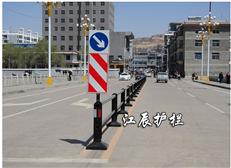 道路不锈钢护栏图片