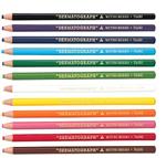三菱7600 卷纸蜡笔油性 拉线蜡笔 环保手撕卷纸蜡笔 12色