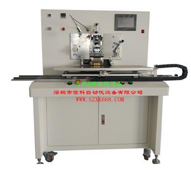 Multi-section ACF attaching machine