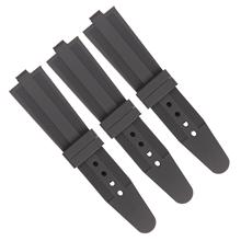 602平面硅胶表带车纹路表带 钟表配件表带厂家直销
