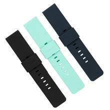 082-22 硅胶表带 厂家钟表配件批发 平耳硅胶表带