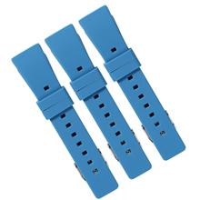 656供应硅胶手表配件定制 硅胶儿童智能手表带 电子手表表带