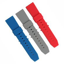 22MM平头光身表带智能手表表带订做生产。