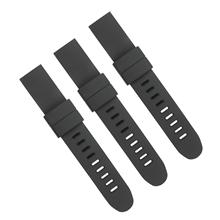 三和兴硅胶表带手表带厂家平头表带光身硅胶带支持订制