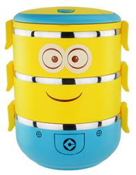B款 小黃人便當盒 -1330