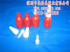 10g紅瓶 塑膠瓶 厭氧膠瓶 缺氧膠瓶 塑膠膠水瓶 塑料瓶